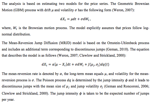 Modelling Oil Price Behaviour in Matlab   15 Writers