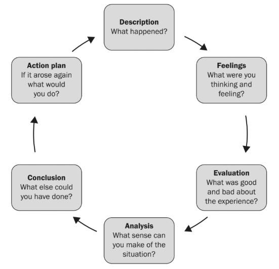 Figure 1- Gibbs' Reflective Cycle