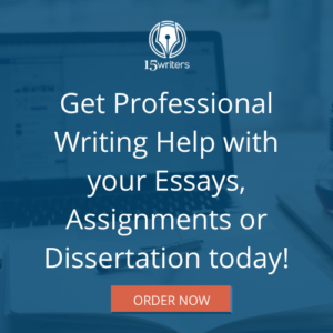 Get Professional Writing Help with your Essays, Assignments or Dissertation today!