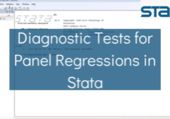 Diagnostic Tests for Panel Regressions in Stata