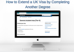 extending your visa by completing a degree