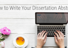 tips on writing your dissertation abstract